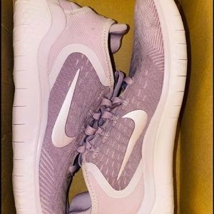 Purple Nike Free Runs